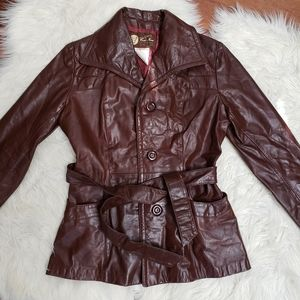 🆕️☀️Vintage Leather Jacket